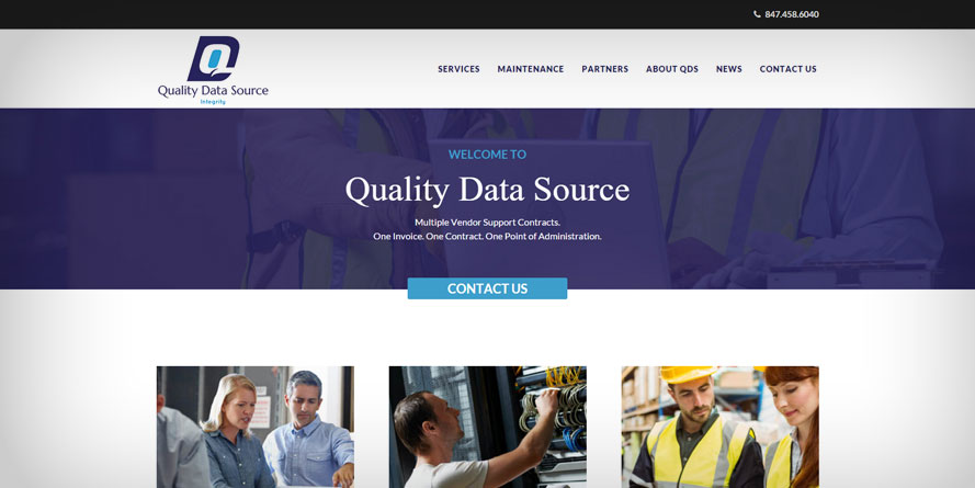 QDS Launces New Website